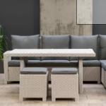 Fonteyn geeft 40% korting op een Montreal Greywash lounge-diningset
