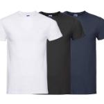 Bestel een 10-pack Russel T-shirts bij Voordeelvanger met 70% korting