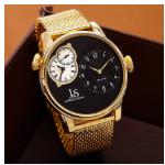 Pak 78% korting op een Joshua & Sons Mesh horloge bij Watch2Day