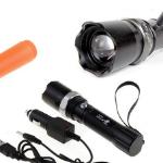 Bestel een aluminium LED zaklamp met 78% korting bij DealDonkey
