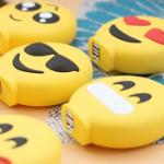 71% korting op een universele Emoji powerbank bij Groupon!