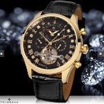 Bestel de Theorema Damascus Diamand Automatics herenhorloge via Watch2Day met 78% korting