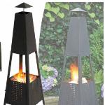 VSdeal geeft 75% korting op een elegante grote terrashaard inclusief vuurkorf
