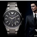 1DayFly - Profiteer van 65% korting op een Armani Ceramica horloge
