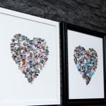 Scoor een gepersonaliseerde fotocollage inclusief lijst met 83% korting | Groupon