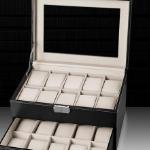 Krijg 39% korting op de luxe 20-slot Collectors Box van Watch2Day