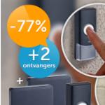 Bespaar -77% op een draadloze deurbel van Grundig via Dealdigger