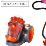 GroupDeal: 75% korting op een Royalty Line Cycloon stofzuiger