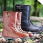 Scoor lederen outdoorlaarzen met 61% korting via OneDayOnly