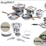 OneDayOnly   Bestel een Berghoff pannen- of pastaset net 56% korting