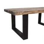 -60% korting op een tafel van Indonesisch boothout bij Speurders!