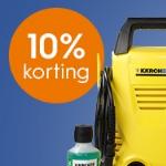 Pak tijdelijk 10% korting op Kärcher hogedrukreinigers bij Blokker