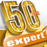 Nu tot 50% korting met de jubileumknallers van Expert