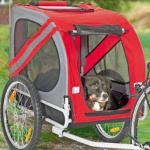 Pak nu €40,- korting op een Pet Traveler fietsaanhanger bij Schecker